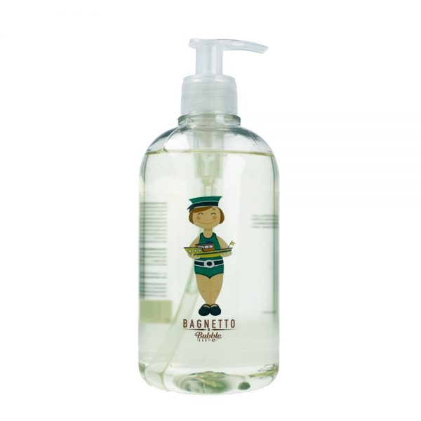 Bubble&CO – Organiczny Płyn do Kąpieli dla Chłopca 500 ml