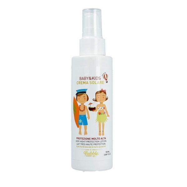 Bubble&Co – Krem Przeciwsłoneczny dla Dzieci I Niemowląt SPF 50 z Filtrami Mineralnymi