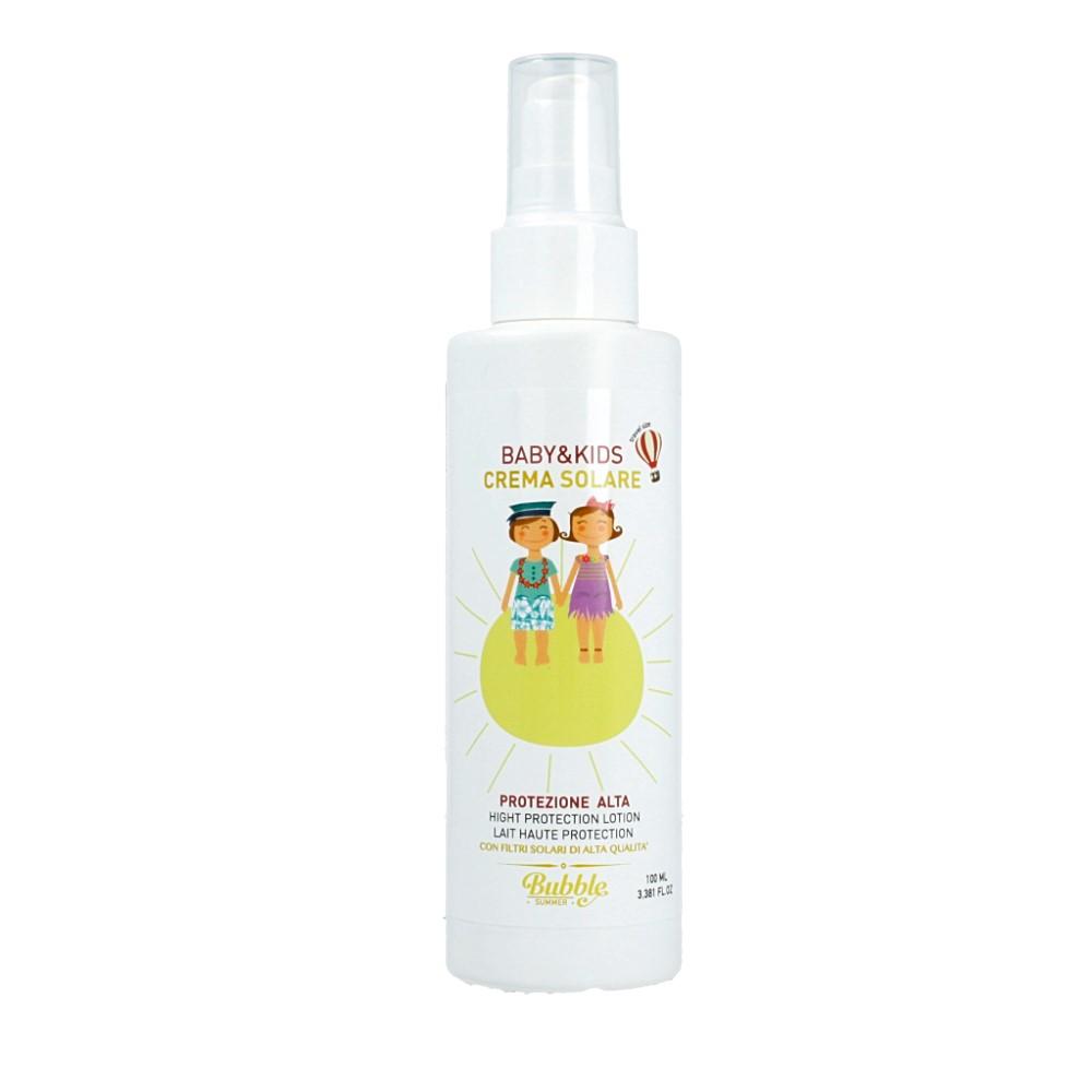 Bubble&CO – Krem Przeciwsłoneczny dla Dzieci I Niemowląt SPF 30 z Filtrami Mineralnymi