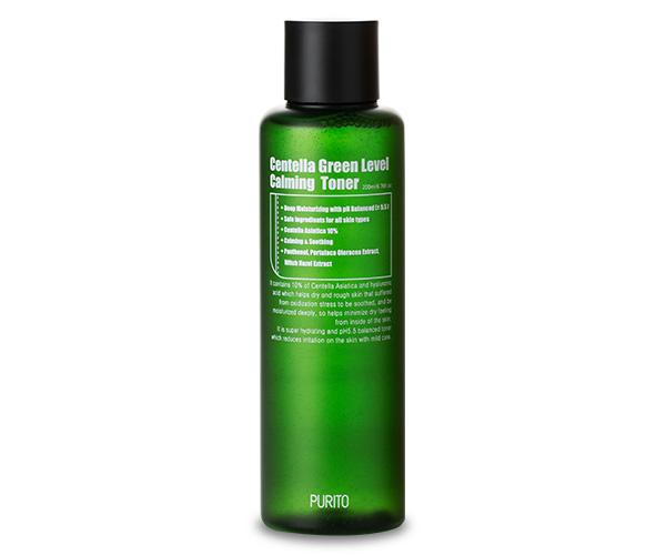 PURITO – Centella Green Level Calming Toner Toner do twarzy na bazie wąkrotki azjatyckiej, 200ml