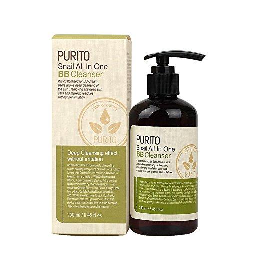 Purito – Snail All In One BB Cleanser Pianka oczyszczająca ze śluzem ślimaka, 250ml