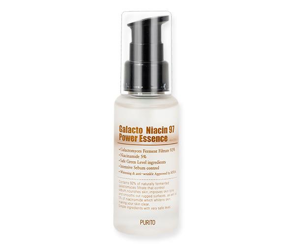 PURITO - Galacto Niacin 97 Power Essence Esencja do twarzy z niacynamidem i fermentami, 60ml