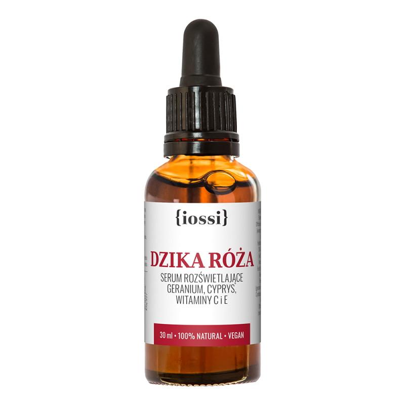 IOSSI -Serum rozświetlające do twarzy – Dzika róża ważność 05.2020