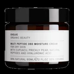 Evolve Organic – Multipeptide 360 Moisture Cream krem przeciwstarzeniowy do skóry normalnej, suchej i dojrzałej