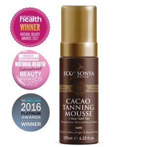 Eco by Sonya – Cacao Firming Mousse organiczny samoopalacz w piance