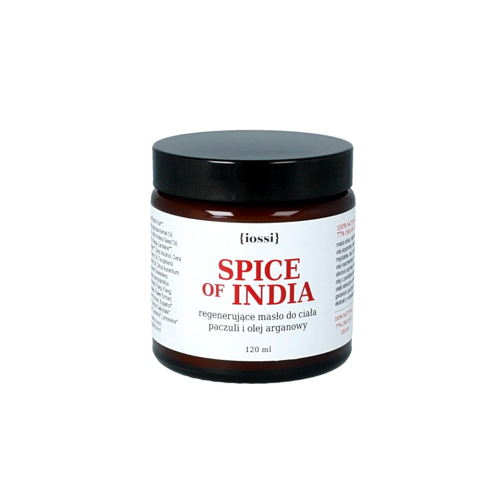 IOSSI Naturalne Masło do ciała Spice of India o ziołowo-korzennym zapachu – ważność 08.2019
