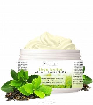 E-Fiore 100% Natualne masło do ciała z zieloną herbatą