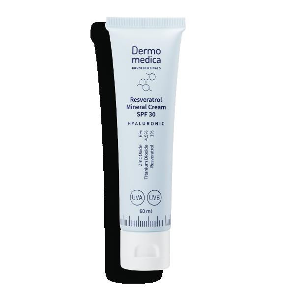 Dermomedica – Resveratrol Mineral Cream SPF 30 Krem z filtrem mineralnym,60ml