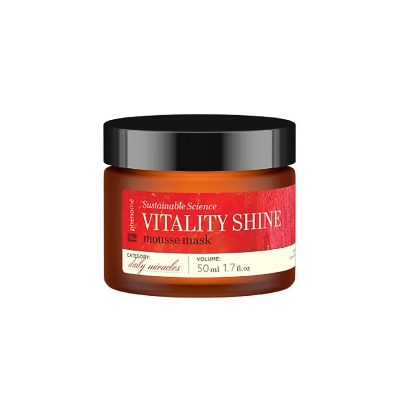 Phenome – Vitality shine mousse mask – Rozjaśniająca maseczka całonocna do twarzy z witaminą C
