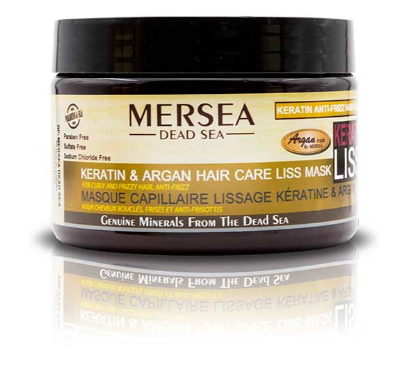 MERSEA DEAD SEA  Keratin & Argan Hair Mask – maska keratynowa ANTI FRIZZ