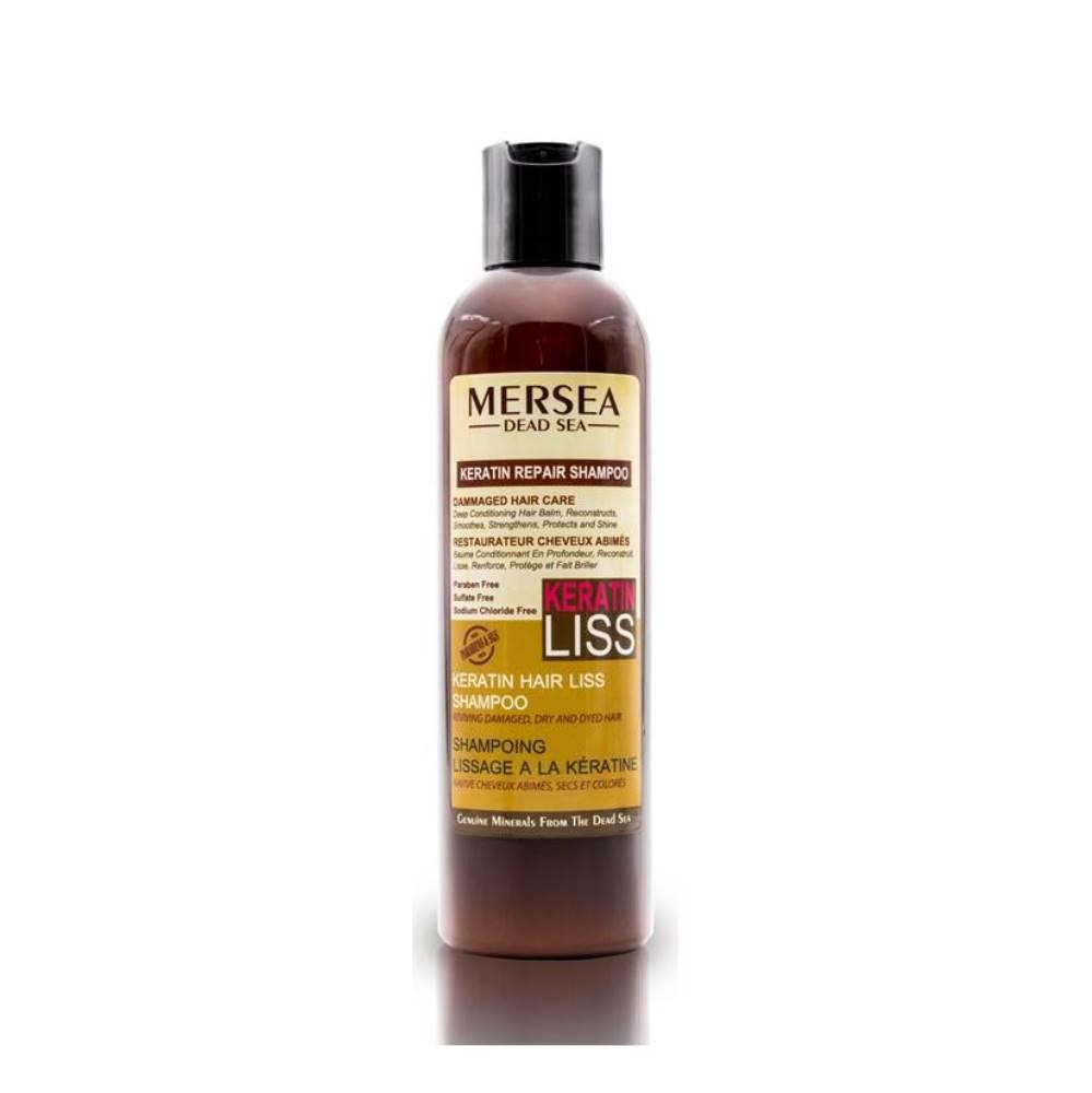 MERSEA DEAD SEA Keratin Repair Shampoo – Keratynowy szampon do włosów suchych i zniszczonych