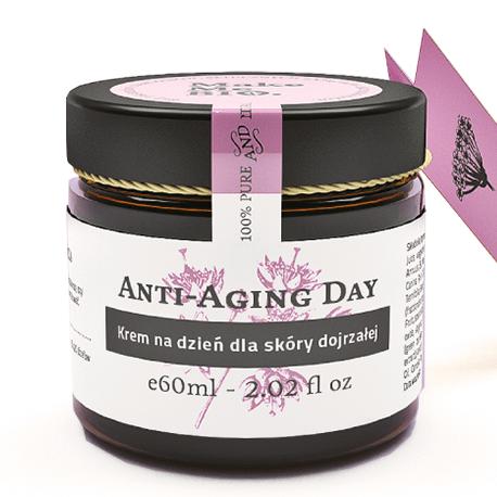 MAKE ME BIO – anti aging day – Odżywczy krem na dzień