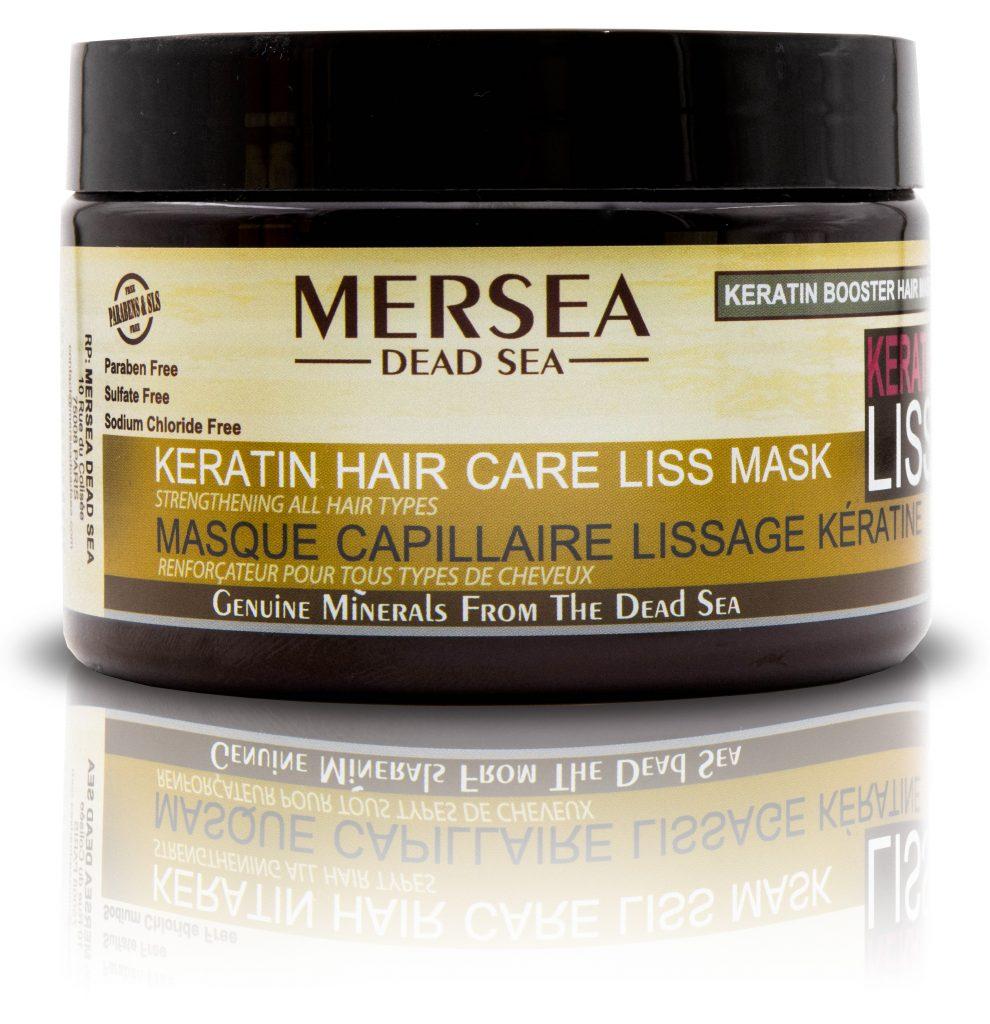 MERSEA DEAD SEA Keratin Hair Care Liss Mask – Wzmacniająca maska do włosów