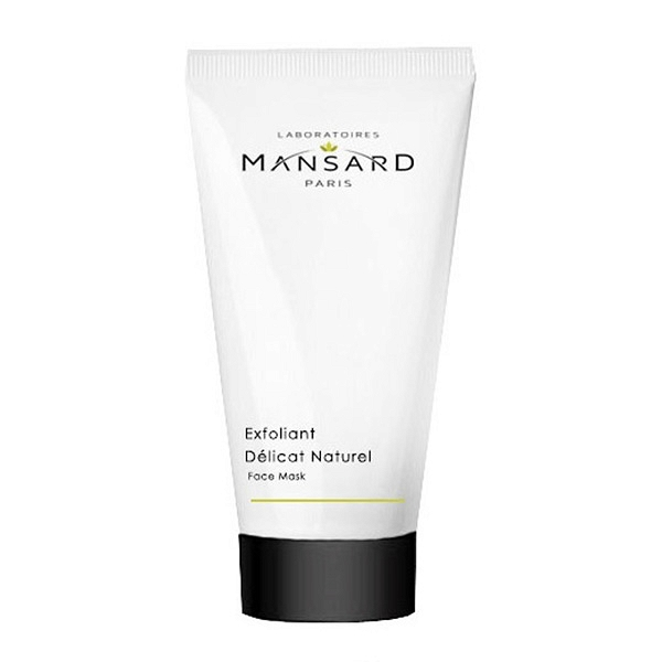 Mansard – Exfoliant Dèlicat Naturel Łagodny naturalny peeling do twarzy
