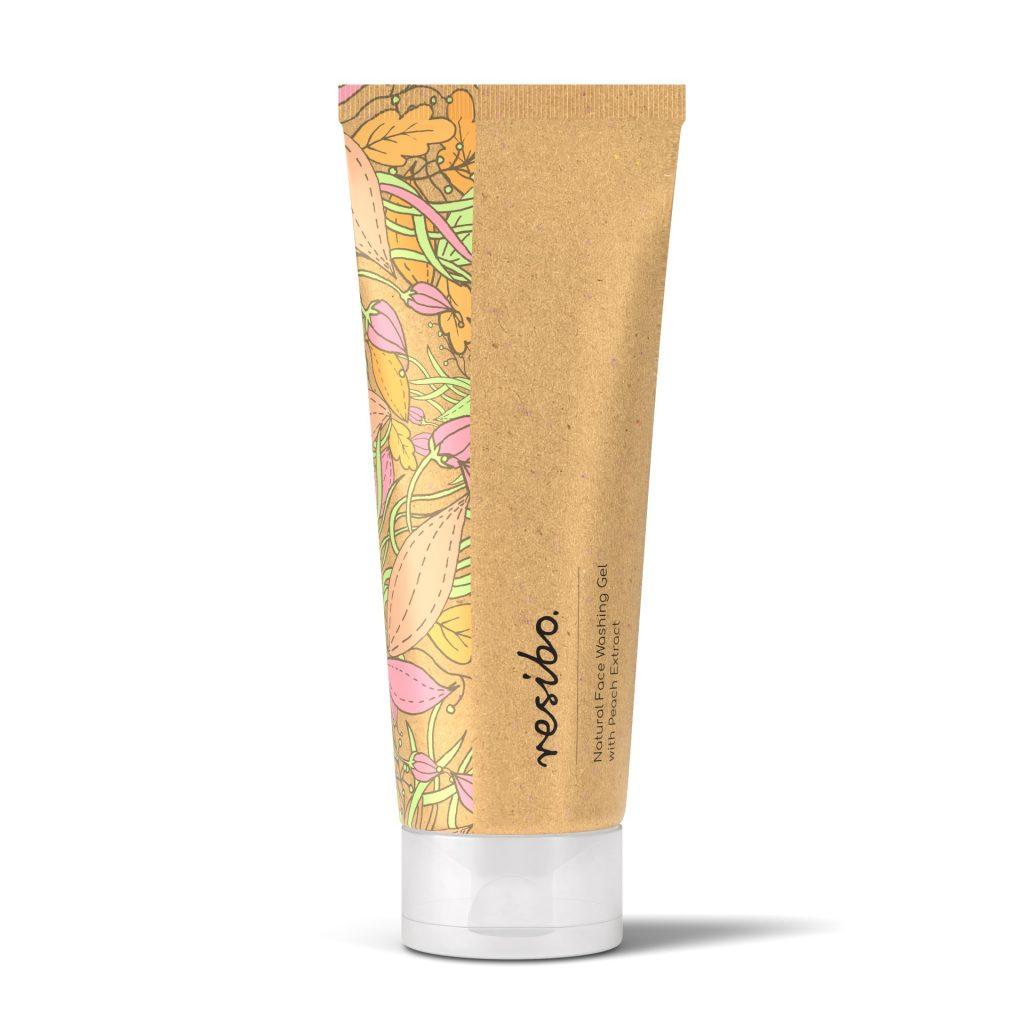 Resibo – Naturalny żel myjący do twarzy z ekstraktem z brzoskwini