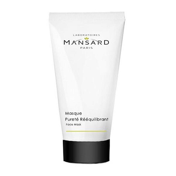 Mansard Masque Pureté Rééquilibrant Maska oczyszczająca z węglem aktywnym