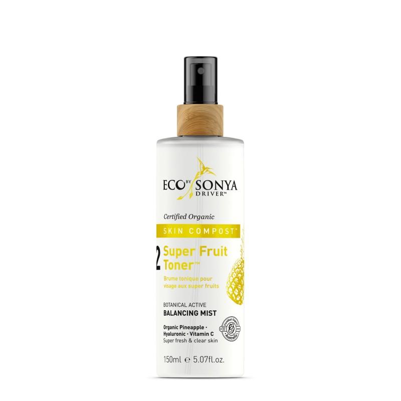 Eco by Sonya – Super Fruit Toner – organiczny toner do twarzy z aloesem i ekstraktem z ananasa