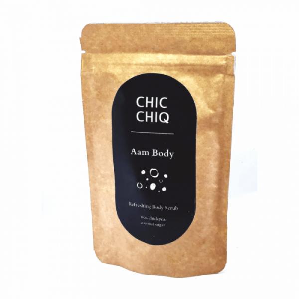 CHIC CHIQ – Aam Body Oczyszczający Peeling do Ciała, ważność 06/2021
