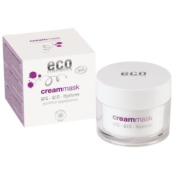 Eco cosmetics – Krem MASKA z OPC, Q10 i kwasem hialuronowym