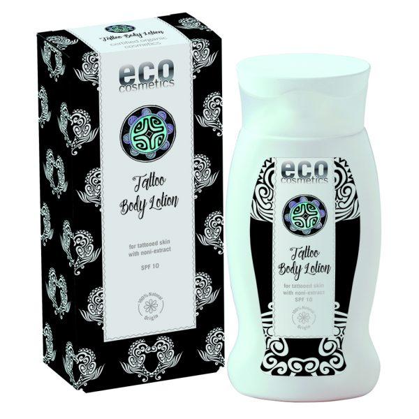 Eco Cosmetics – Tatoo Body LotioEco Cosmetics – Tatoo Body Lotion – Certyfikowany balsam do ciała dla skóry z tatuażami ważność 06/2020
