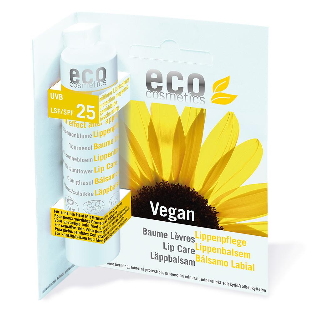 Eco Cosmetics – Balsam do ust w sztyfcie SPF 25 VEGAN