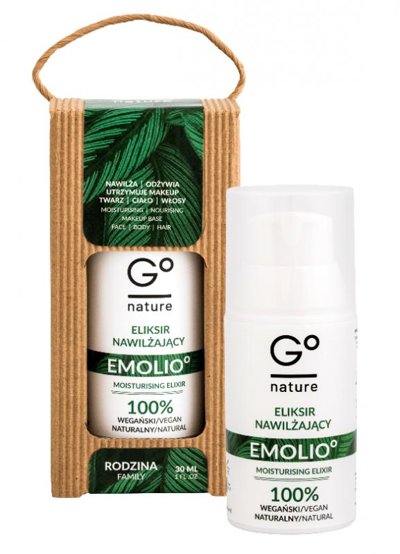 GoNature – Naturalny Eliksir ultranawilżający EMOLIO° 30ml