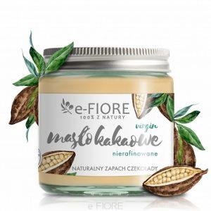 E-Fiore – Masło kakaowe, nierafinowane zapach czekolady