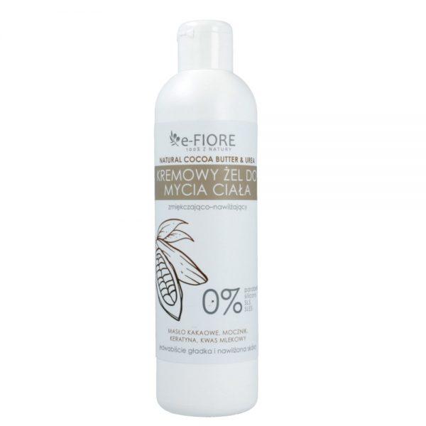 E-Fiore – Naturalny żel do mycia z masłem kakaowym, mocznikiem i keratyną