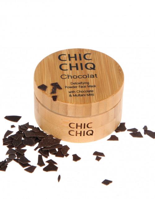 CHIC CHIQ – Chocolate 100% naturalna maseczka do twarzy z kakao, lukrecją i glinką fulerską