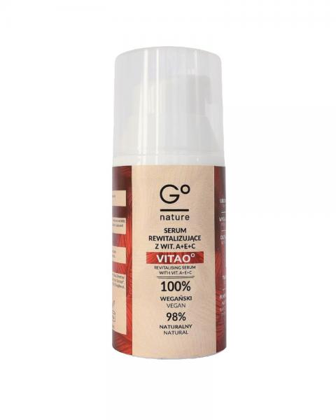 GoNature – Naturalne serum rewitalizujące z  wit. A+E+C VITAO°