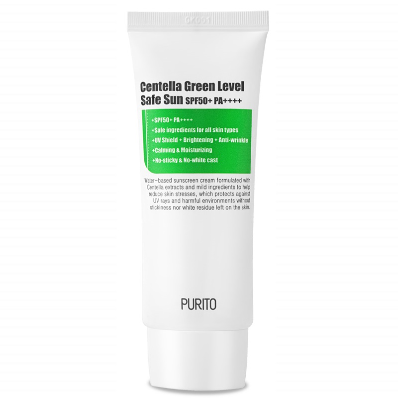 Purito – Centella Green Level Safe Sun 50+PA++++ Krem z filtrem przeciwsłonecznym