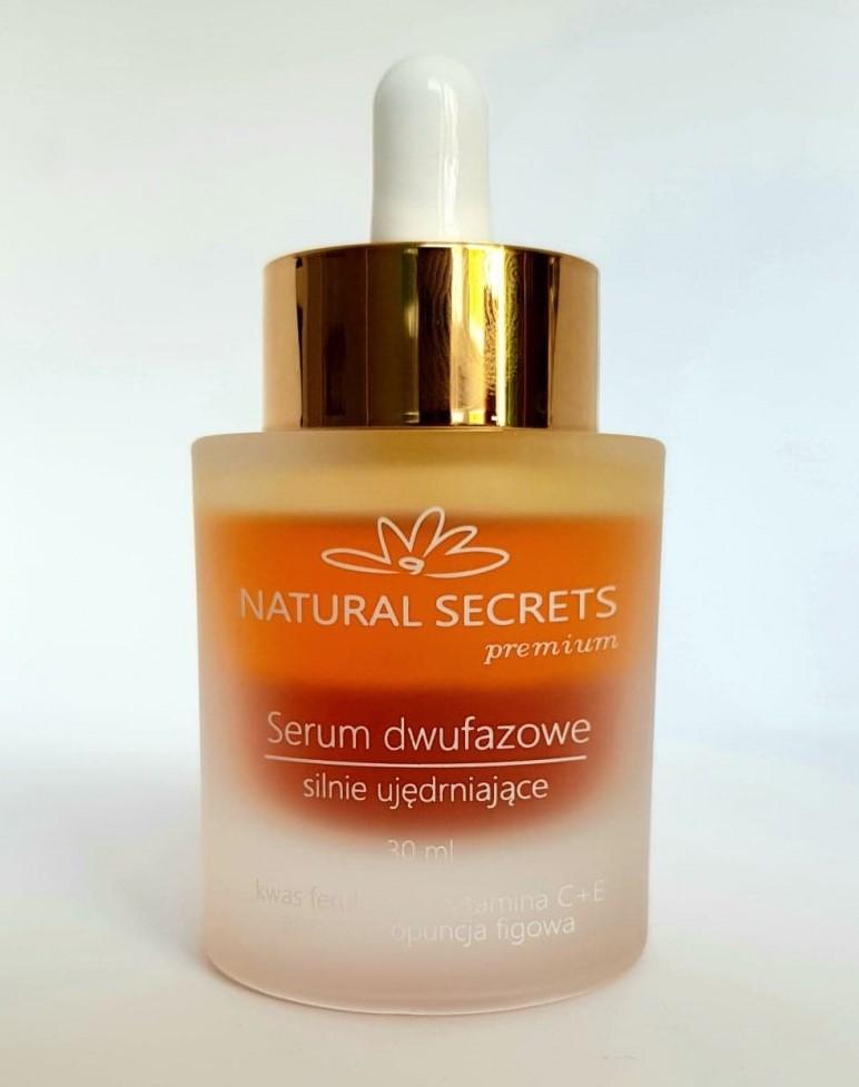 Natural Secrets – Przeciwstarzeniowe serum dwufazowe silnie ujędrniające