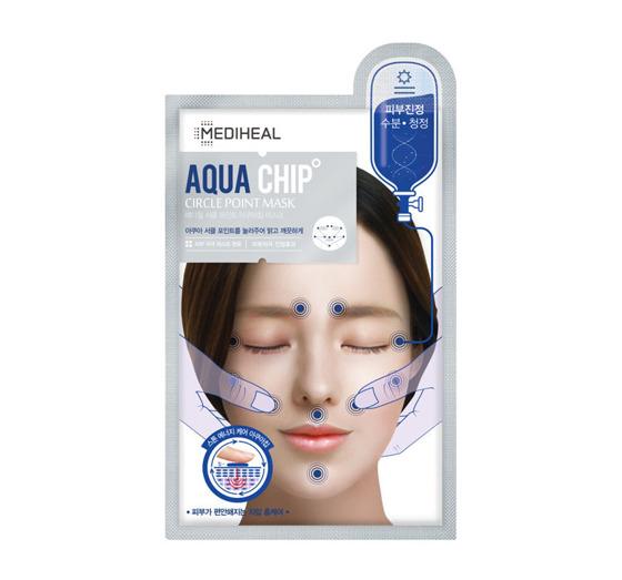 Mediheal – Circle Point Aquachip – Maska kojąca w płachcie , ważność 01/2021
