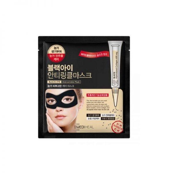 Mediheal – Black Eye maska przeciwzmarszczkowa do skóry wokół oczu