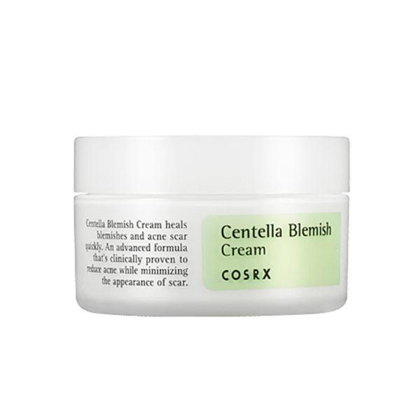 COSRX – Centella Blemish Cream – Krem Łagodzący Do Skóry Problematycznej z wąkrotką azjatycką