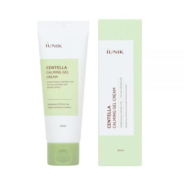iUNIK – Centella Calming Gel Cream – Kojący krem do twarzy z wąkrotką azjatycką