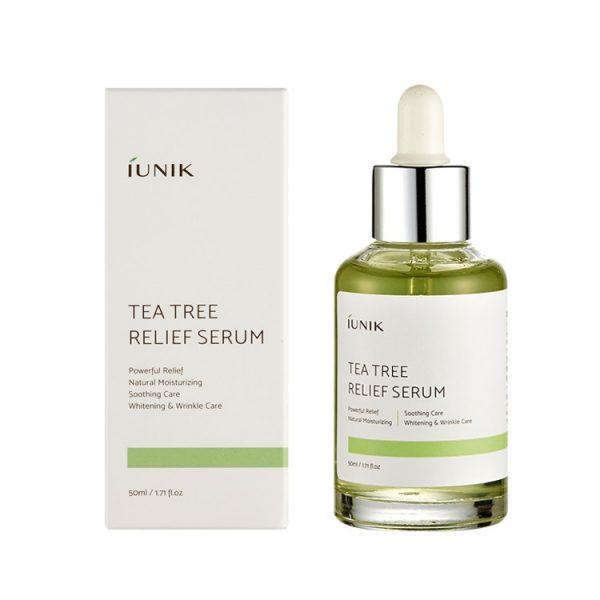 iUNIK – Tee Tree Relief Serum Serum kojące dla cery problematycznej