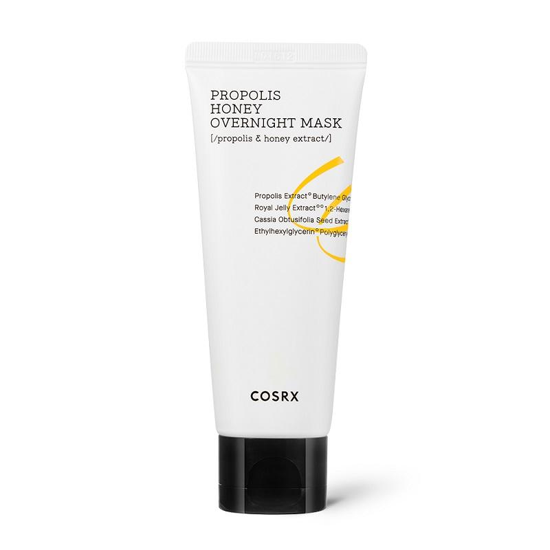 COSRX – Ultimate Moisturizing Honey Overnight Mask Intensywnie nawilżająca maska całonocna, 60ml