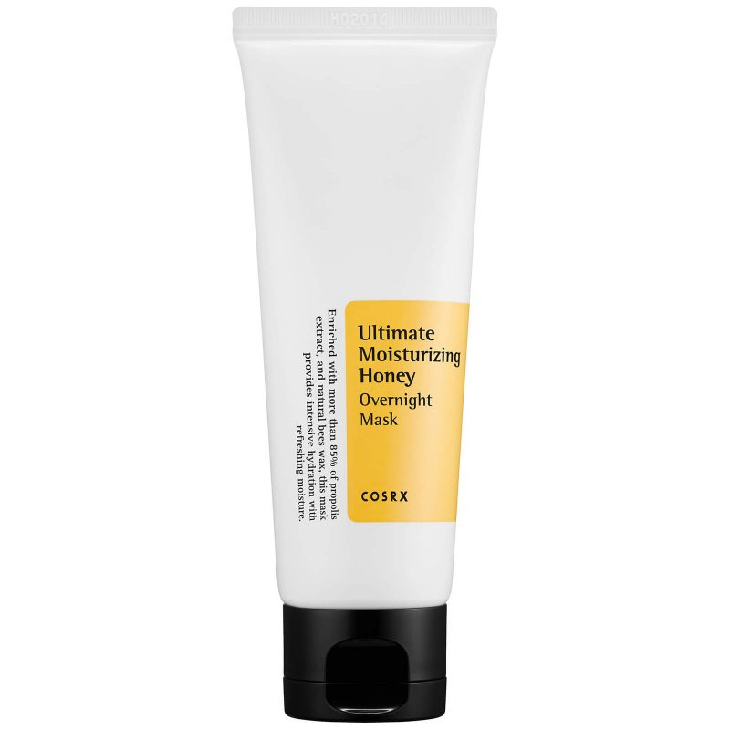 COSRX – Ultimate Moisturizing Honey Overnight Mask Intensywnie nawilżająca maska całonocna