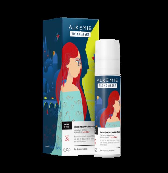 Alkemie, MASTER OF TIME,  Skin (re)synchronizer – Krem regulujący rytm dobowy skóry