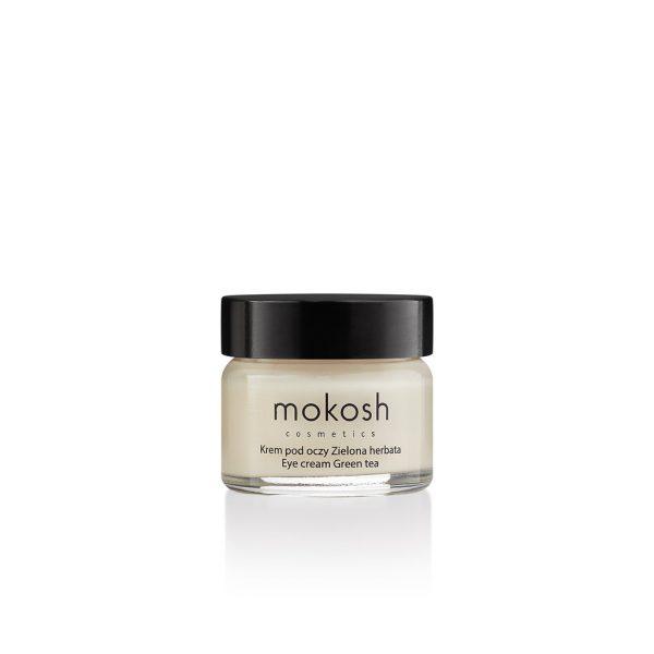 Mokosh – Korygujący krem pod oczy Zielona herbata – 15ml