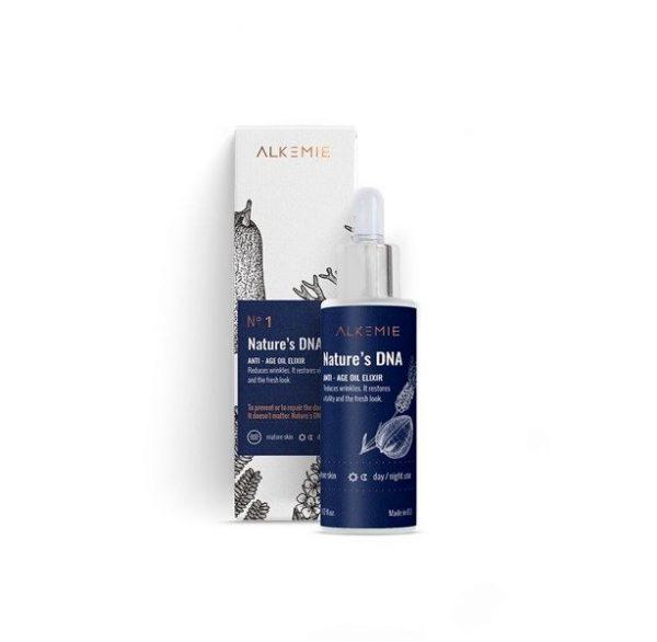 Alkemie, ANTI AGE, Nature's DNA – Odmładzający eliksir olejowy 30ml