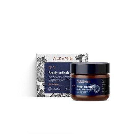 Alkemie, ANTI AGE, Beauty: activate! – Biomimetyczny peeling enzymatyczny