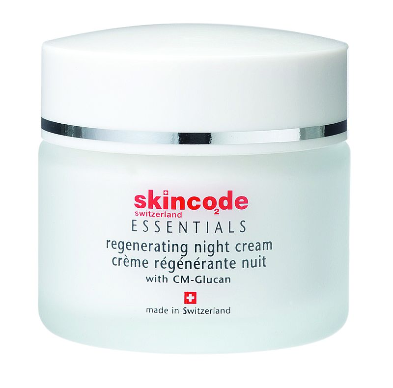Skincode – Regenerating Night Cream – Regenerujący krem na noc