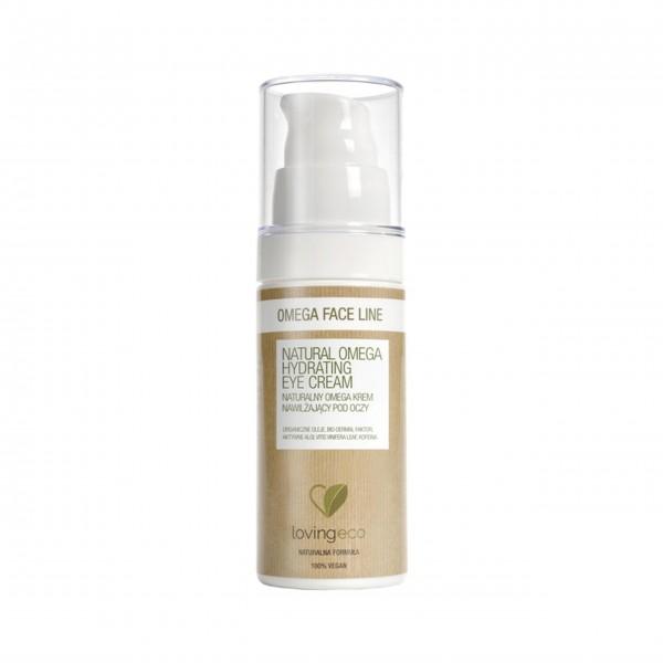 Loving Eco – Natural Omega Hydrating Eye Cream – Naturalny krem nawilżający pod oczy