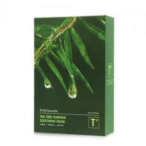 Dr.Ceuracle – Tea Tree Purifine Soothing Mask – Łagodząco-kojąca maseczka w płachcie na bazie wyciągu z drzewa herbacianego