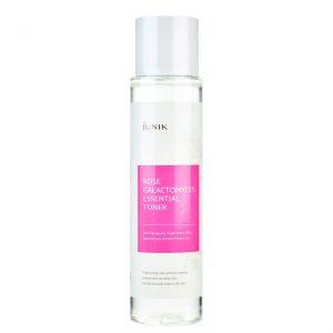 iUNIK – Rose Galactomyces Essential Toner – Nawilżający Rewitalizujący  Tonik Do Twarzy z Wodą Różaną – 200ml