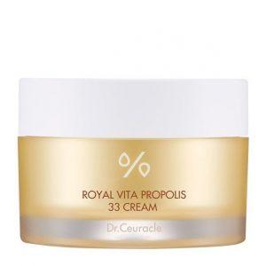 Dr.Ceuracle – Royal Vita Propolis 33 Cream – Głęboko odżywczy krem z ekstraktem z propolisu i mleczkiem pszczelim