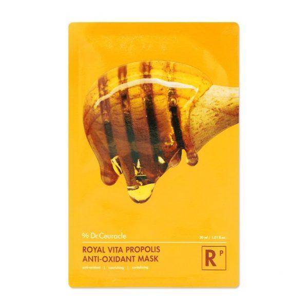 Dr.Ceuracle – Royal Vita Propolis Anti-oxidant Mask – Odżywcza maska w płachcie z propolisem