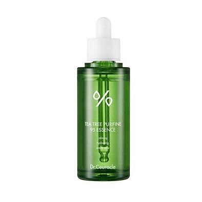 zielona buteleczka z Kojącą esencją Dr.Ceuracle - Tea Tree Purifine 95 Essence